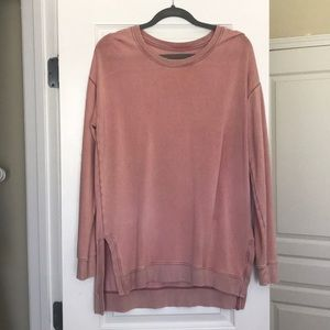Rose pink pullover
